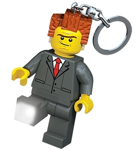 LEGO LED Key Light Lego the Movie seires - President Business - 樂高 LED燈鑰匙圈 樂高大電影系列 - 大總裁
