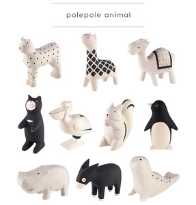Wooden Cute Animal (polepole animal) Part 3 - single - 木製可愛小動物 單款 Part 3