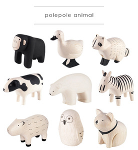 Wooden Cute Animal (polepole animal) Part 5 - single - 木製可愛小動物 單款 Part 5