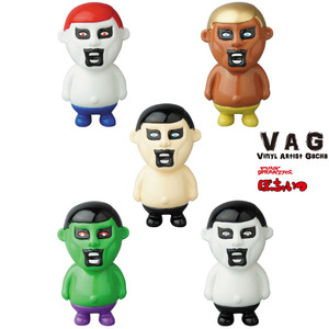 Vinyl Artist Gacha series 10 - Mini Aitsu by Punk Drunkers - set of 5pcs - VAG 藝術家軟膠扭蛋 第十彈 - 小小的那傢伙 - 一套五款