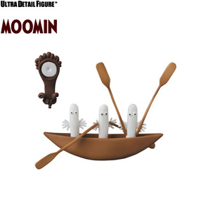 UDF Moomin series 3 - Hattifatteners (With Ship, Barometer) - UDF 嚕嚕米系列 第三彈 - 溜溜(附船, 氣壓表)