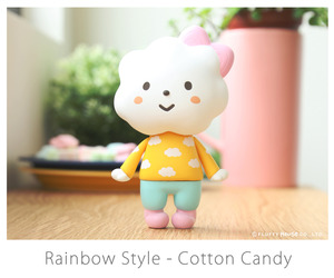 Fluffy House Miss Rainbow Style - Cotton Candy - 彩虹小姐 棉花糖配色
