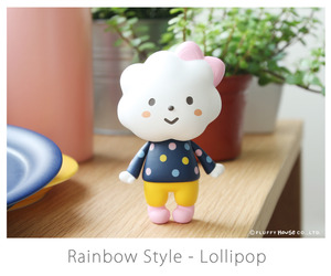 Fluffy House Miss Rainbow Style - Lollipop - 彩虹小姐 棒棒糖配色