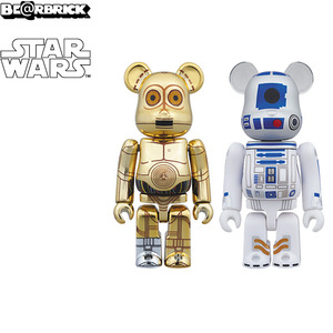 100% Bearbrick 2pack - Star Wars - C-3PO & R2-D2 - 星際大戰 100%小熊雙人組 - C-3PO & R2-D2
