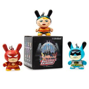 "DC Justice League 1.5"" Dunny Keychain Series - assortment - DC正義聯盟 1.5"" Dunny鑰匙圈 盒玩系列 - 隨機單抽"