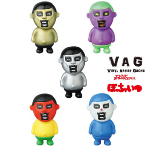 Vinyl Artist Gacha series 14 - Mini Aitsu by Punk Drunkers - assortment (buying 5pcs means a set)  - VAG 藝術家軟膠扭蛋 第十四彈 - Punk Drunkers 小小的那傢伙 - 隨機單抽 (成套購買請選五的倍數)