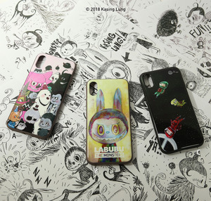 HOW2WORK iPhoneX case - designed by Kasing Lung - Single - iPhoneX 手機保護殼 - 龍家昇設計款 - 單款