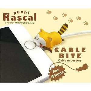 Cable Bite Cable Accessory for iPhone - Rascal - iPhone充電線用 咬線裝飾保護套 - 小浣熊拉斯卡爾