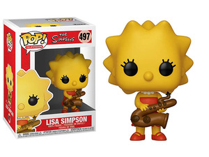 The Simpsons POP! vinyl figure - Lisa Simpson - 辛普森家族 POP!人偶 - 花枝辛普森