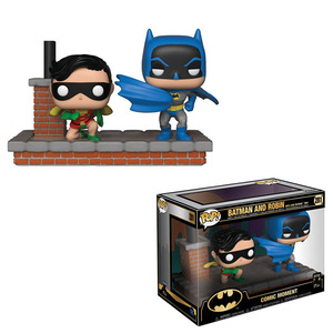 Comic Moments: Batman 80th anniversary POP! vinyl figure - Batman & Robin 1964 - 蝙蝠俠 80周年紀念 POP!人偶豪華組 - 蝙蝠俠與羅賓 1964年造型