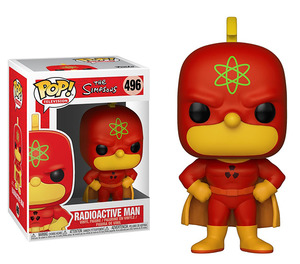 The Simpsons POP! vinyl figure - Radioactive Man - 辛普森家族 POP!人偶 - 輻射超人