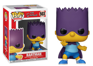 The Simpsons POP! vinyl figure - Bartman - 辛普森家族 POP!人偶 - 霸子超人