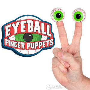 Archie McPhee Eyeball Finger Puppet - assortment - 玩偶指套 眼球 - 隨機單抽