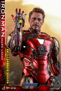 MMS543D33 Avengers: Endgame 1/6 scale collectible figure - Iron Man Mark LXXXV (Battle Damaged Version) - 復仇者聯盟4:終局之戰 1/6比例可動人偶 - 鋼鐵人MK85 戰損版 (野獸國代理商品)