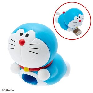 Cable Bite Cable Accessory for iPhone - Doraemon - iPhone充電線用 咬線裝飾保護套 - 小叮噹