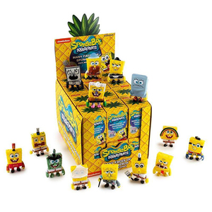 Many Faces of Spongebob Vinyl Mini Figure blind box series - assortment  - 海綿寶寶的各種臉孔 人偶盒玩系列 - 隨機單抽