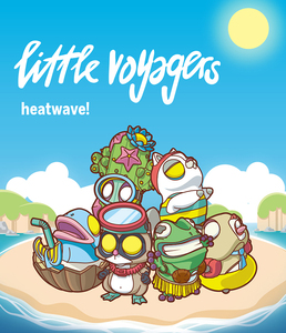 POP MART X COARSE Little Voyagers -heatwave!- series - assortment - 小小冒險家系列5 -熱浪- 盒玩系列 - 隨機單抽
