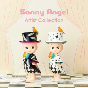 Sonny Angel Artist Collection Collaboration with Kangyong Cai - Brave as me (Black) / Best of You (White) - Sonny Angel 蔡康永聯名藝術家系列 - 勇敢如我(黑) / 最好的你(白)