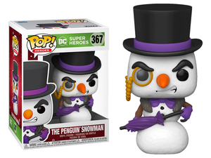 DC Holiday POP! vinyl figure - The Snowman Penguin - DC聖誕版 POP!人偶 - 雪人企鵝人
